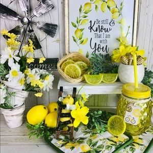 """Sunshine Day"" Lemon & Bee Home Decors"